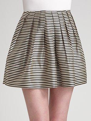 Reyes Brian Silk Pouf Skirt