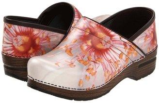 Dansko Professional (Pink Poppy Leather) - Footwear