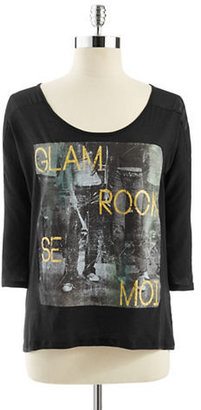 Jessica Simpson Rocker Glam Top