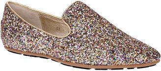 Jimmy Choo Wheel multi-glitter loafer