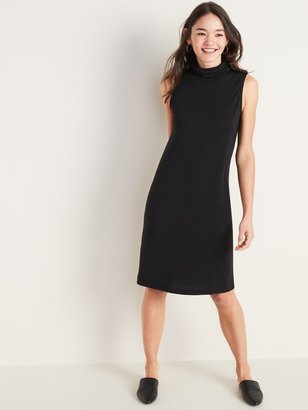 Old Navy Sleeveless Turtleneck Shift Dress for Women