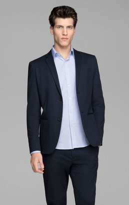 Theory Rodolf W HL Jacket in Grovet Stretch Cotton