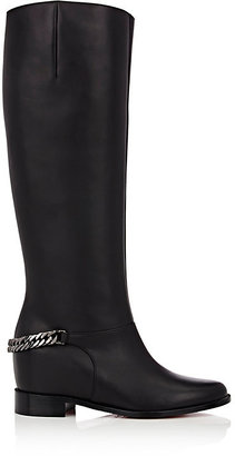 Christian Louboutin Women's Cate Knee Boots-BLACK