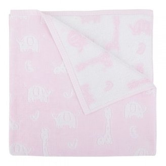 Mayoral Pink zoo animal towel