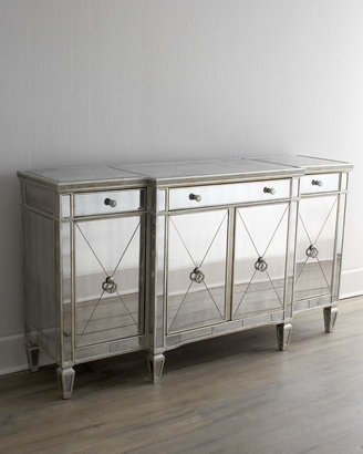 """Horchow """"Amelie"""" Mirrored Buffet/Console"""