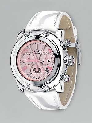 Glam Rock Miami Patent Chronograph Watch