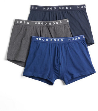 HUGO BOSS Three-Pack Stretch Boxer Shorts