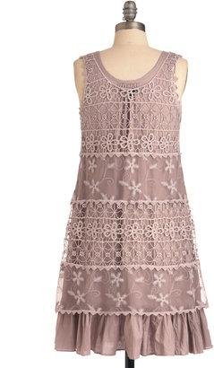 On the Mauve Dress