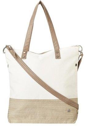Nixon Stopper Tote (Bone/Khaki) - Bags and Luggage