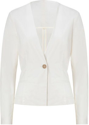 See by Chloe White Cotton Jacket