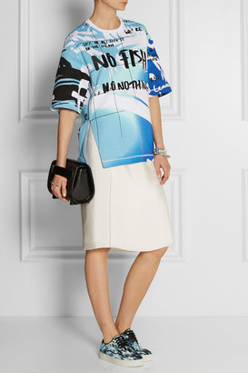 Kenzo No Fish No Nothing printed cotton-terry top