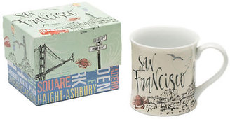 Gump's San Francisco Mug In Box