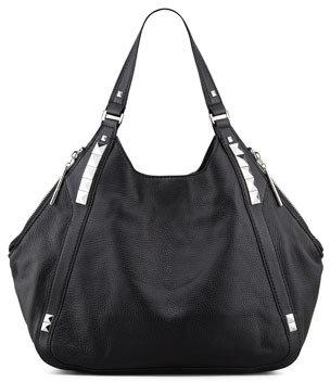 Oryany Libra Colorblock Hobo Bag, Black