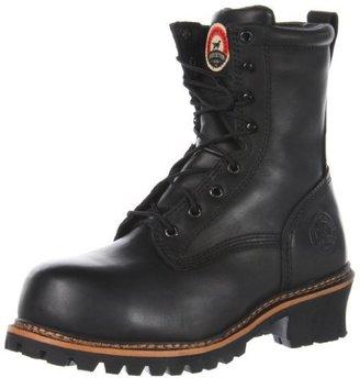 """Irish Setter Men's 83818 8"""" Non-Metallic Safety Toe Work Boot"""