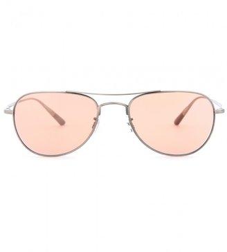 Oliver Peoples Kincaid aviator-style sunglasses