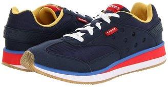 Crocs Retro Sneaker (Navy/Red) - Footwear