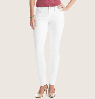 LOFT Curvy Super Skinny Jeans in White