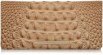Brahmin 'Ady' Croc Embossed Continental Wallet