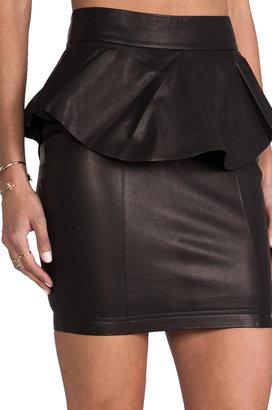 Torn By Ronny Kobo Gigi Leather Skirt