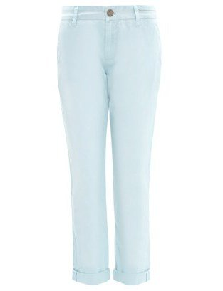 Current/Elliott Pale Blue Buddy Trousers