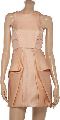 Tibi Cutout jacquard dress