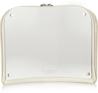 Maison Martin Margiela Curved mirror and leather clutch
