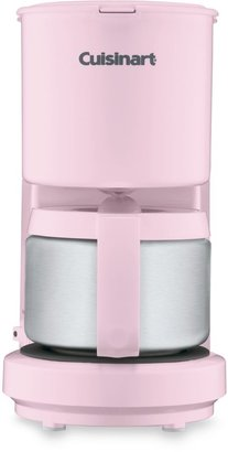 Cuisinart 4-Cup Coffee Maker with Stainless Steel Carafe in Pink
