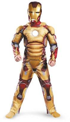 Iron Man 3 mark 42 muscle light up costume - kids