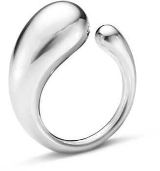 Georg Jensen Mercy Ring Sterling Silver Large