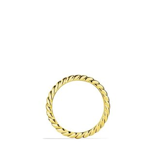 David Yurman Cable Wedding Band in Gold