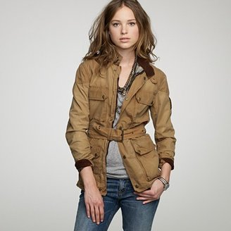Belstaff Roadmaster jacket in washed waxed cotton