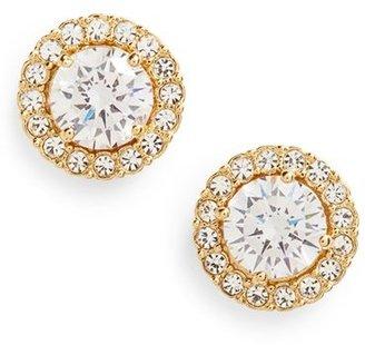 Women's Nadri Round Cubic Zirconia Stud Earrings $38 thestylecure.com