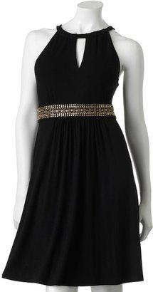 Apt. 9 keyhole embellished dress