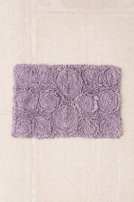 Urban Outfitters Frayed Roses Bath Mat