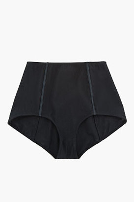 Balmain PIERRE Black high-waisted tulle corset bottoms
