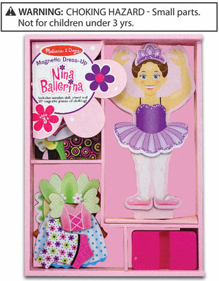 Melissa & Doug Toy, Nina Ballerina Magnetic Dress-Up
