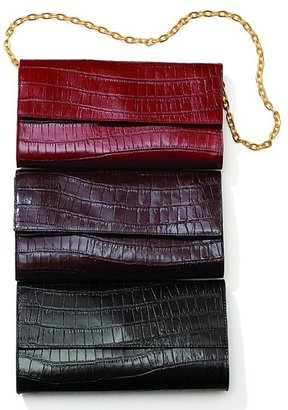 Bloomingdale's Our Exclusive Croco-Embossed Leather Clutch