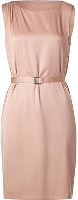 Theory Nude Blush Belted Dress