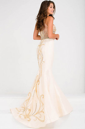 Jovani Embellished Bodice Mermaid Prom Dress JVN47813