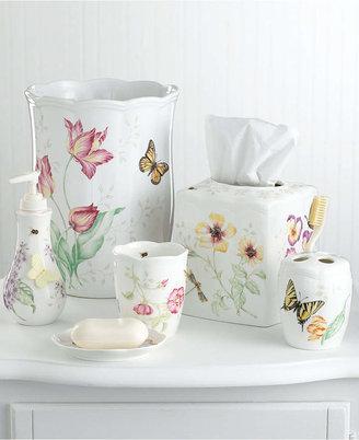 """Lenox Butterfly Meadow """" Soap Dish Bedding"""