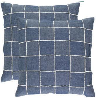 Levi's Atomic Lounge Pillow Pair 18x18 Blue
