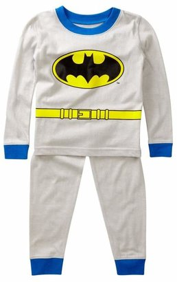 Intimo Batman Long Sleeve Tight Fit PJ Set (Toddler, Little Boys, & Big Kids)