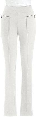 Rafaella Slim-Leg Ponte Pants