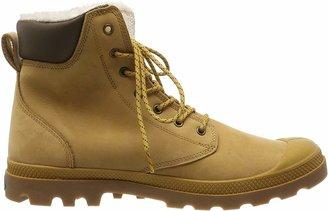 Palladium Pampa Sport Wps Unisex-Adult Top Shoes Jaune (846/Amber Gold/Mid Gum) 5.5 UK (39 EU)