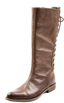 Gee WaWa Leather Laced Kacy Boot