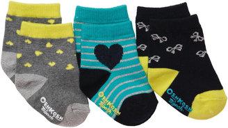 Osh Kosh 3-Pack Socks