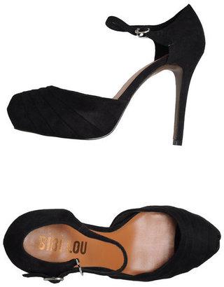 Bibi Lou Pumps with open toe