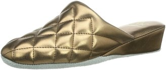 Hans Herrmann Collection Womens HHC Slippers Gold Size: 4 UK