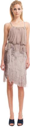 Nina Ricci Fringe Dress