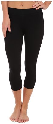 Three Dots Cotton Stretch Cropped Legging Women's Clothing